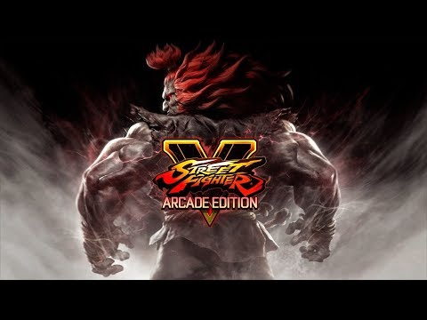 Gameplay - Street Fighter V Arcade Edition - Mode Arcade SF/SF2 (PS4)