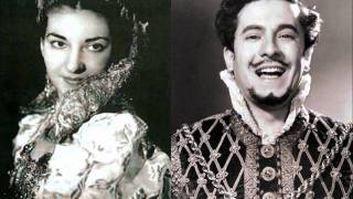 Rigoletto [part 1 of 3] - Callas, di Stefano (LIVE 1952 - Mexico City)
