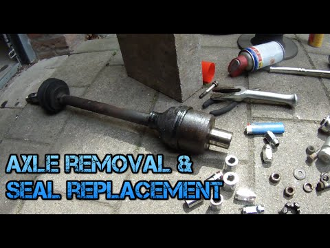 Classic Mini Axle Removal And Seal Replacement Youtube