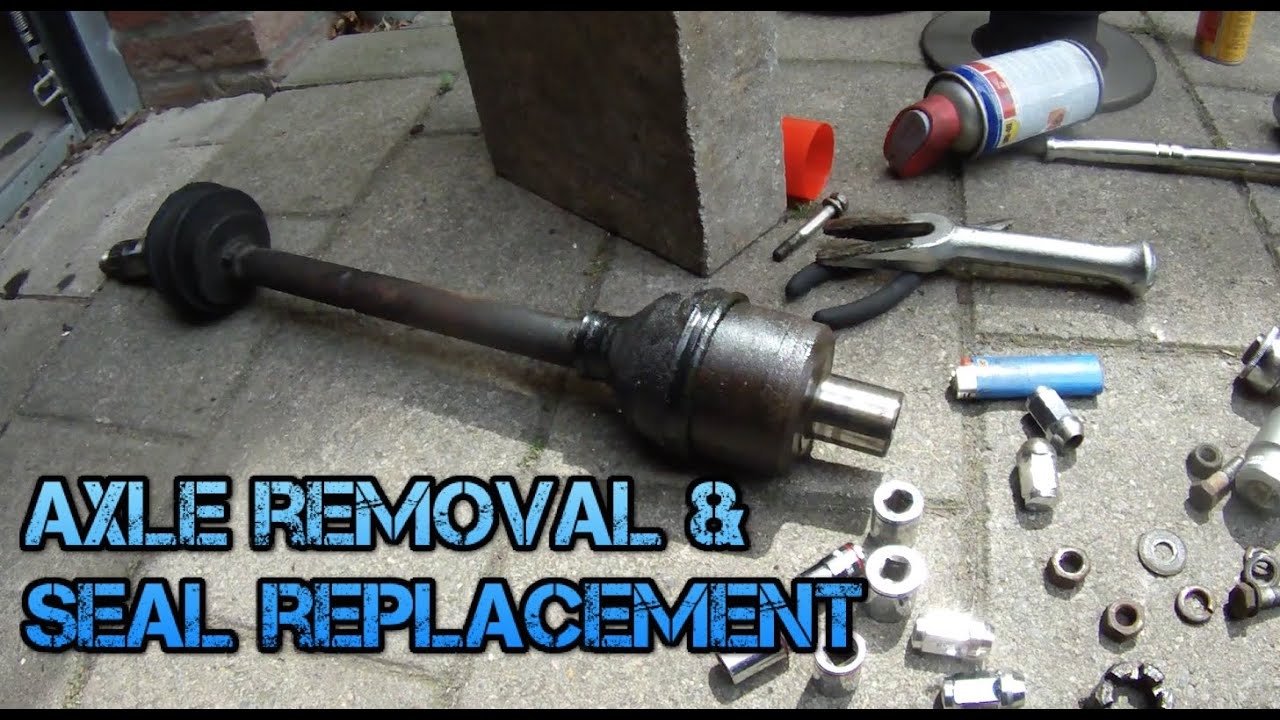 2007 mini cooper side cv axle removal from a differental