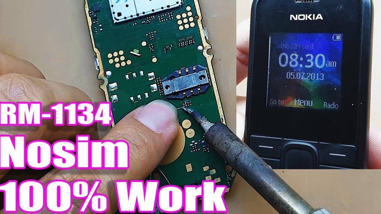 Nokia 105  Rm-1134  No Sim Solution 100  Woking