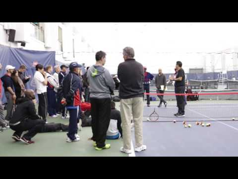 Tennis Instruction for Kids Part 8   Introducing the Serve