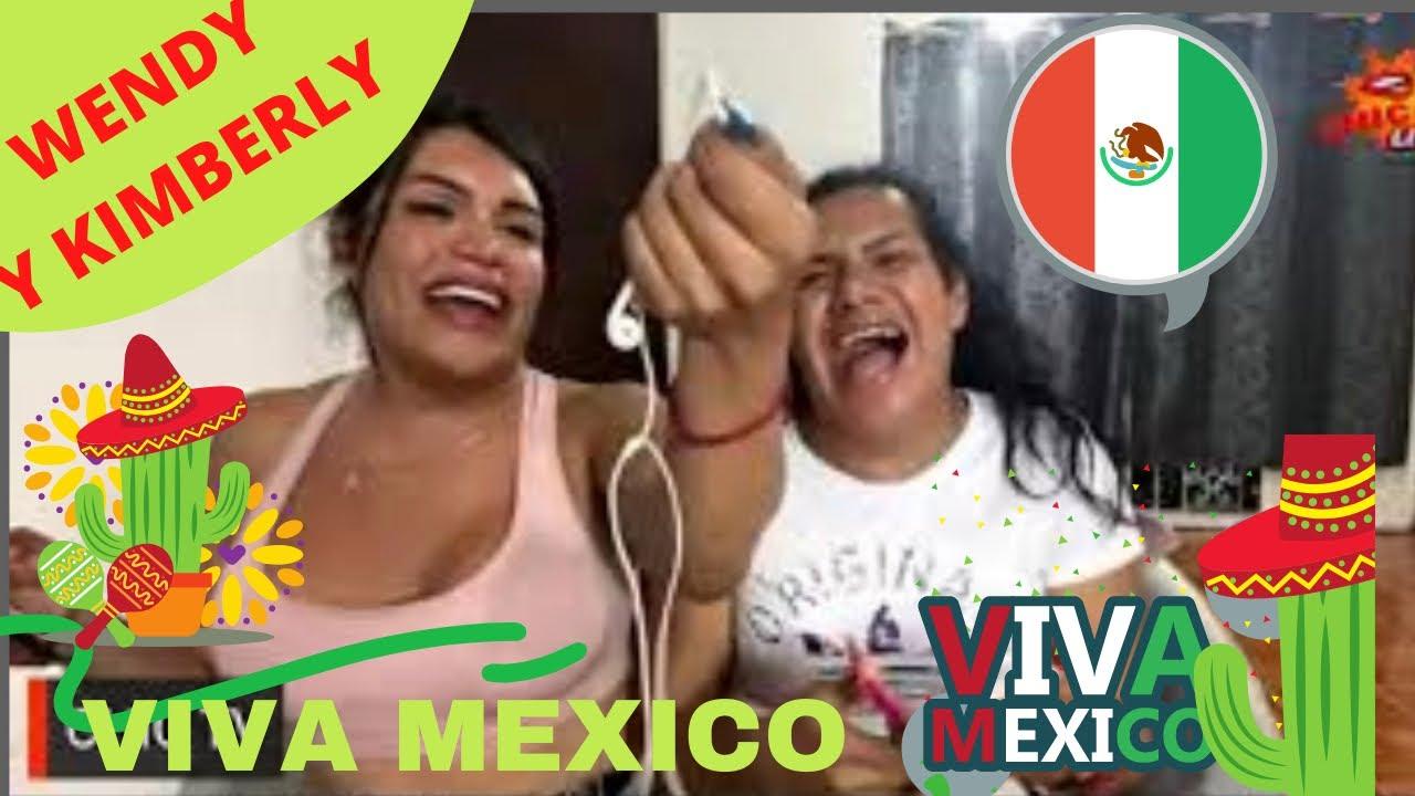 #chictv SOYWENDYGUEVRA Y KIMBERLY  VIVA MEXICO|. FELICES  FIESTAS PATRIAS