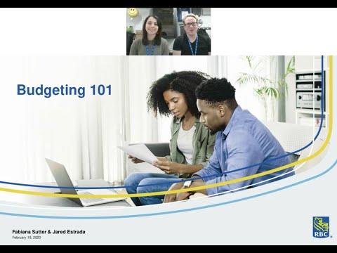 Budgeting 101 With RBC Campus Advisors