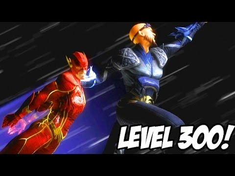 THIS IS THE END... LEVEL 300! - Injustice Zod Gameplay S.T.A.R Labs Missions