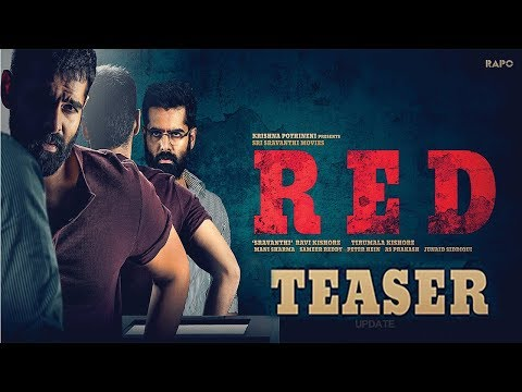 ram-pothineni-red-movie-teaser-update-|-#redteaser-|-nivetha-pethuraj-|-kishore-tirumala-|-get-ready