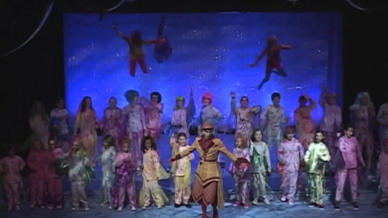 Stage Door Fine Arts- The Little Mermaid Montage - YouTube