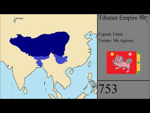 The Rise and Fall of the Tibetan Empire