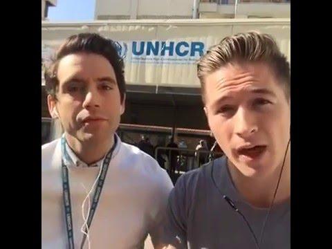 2015.12.21 Facebook LIVE from a refugee reception centre #UNHCR in Beirut #MyRefugeeStory
