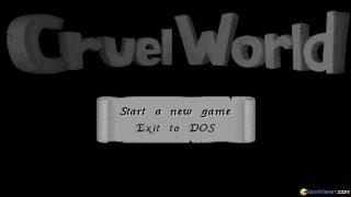 Cruel World gameplay (PC Game, 1993)