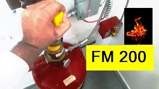PART 1 - FM 200 Fire suppression Release System  - Wiring and operation