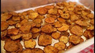 Receita de Chips com Batata Doce – Gostoso e Super Crocante
