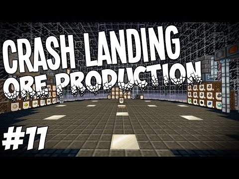Crash Landing - Minecraft HQM - Ore Production #11