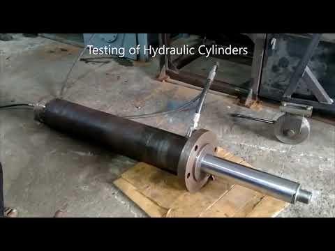 Testing Of Hydraulic Cylinder   @JSD Engineering Products - Yuken