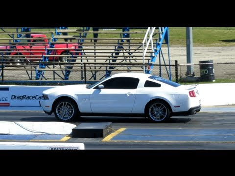 2012 mustang gt 1 4 mile with bama tune and without youtube. Black Bedroom Furniture Sets. Home Design Ideas