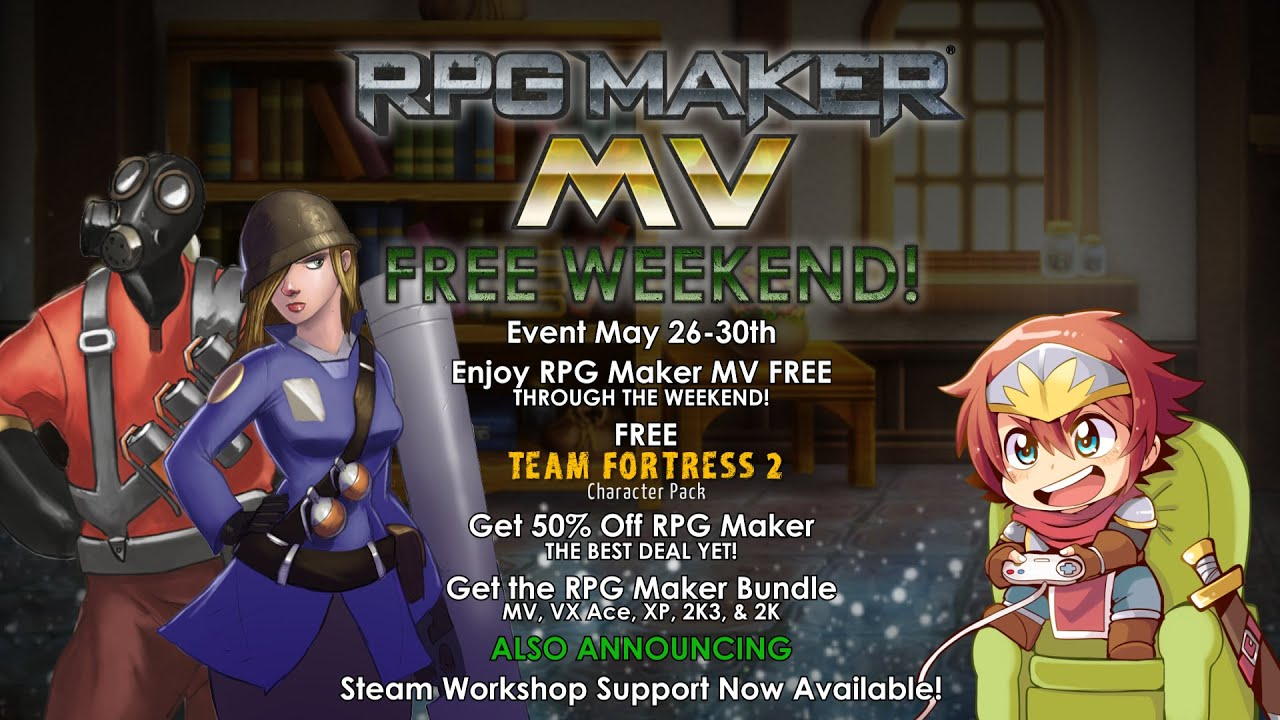 RPG Maker Free Weekend