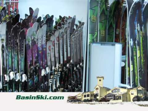 Ski Rentals And Demo Equipment At Basin Sports
