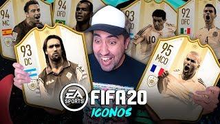 FIFA 20 ICONOS | EA SPORTS HACEME FELIZ!!!