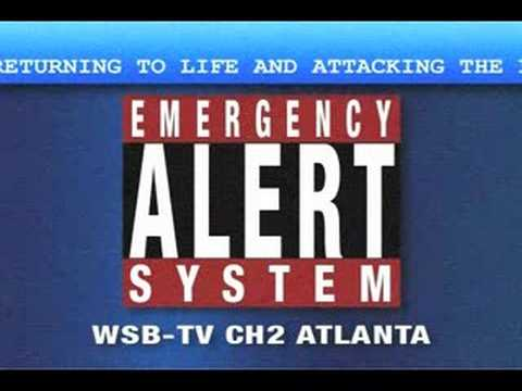 Zombie Emergency Alert System Warning (EAS)