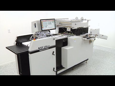 NSF Ultra Foil Stamping Presses - Pocket Folders - THERM-O-TYPE Corp.