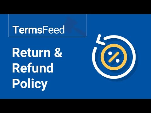 Return & Refund Policy Generator