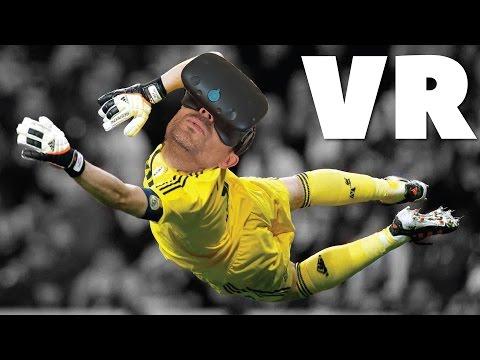 EL IKER CASILLAS DE LA REALIDAD VIRTUAL | Final Goalie (HTC Vive Gameplay)