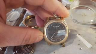 Обзор часов  Sekonda 26 jewels  ( с заменой баланса )