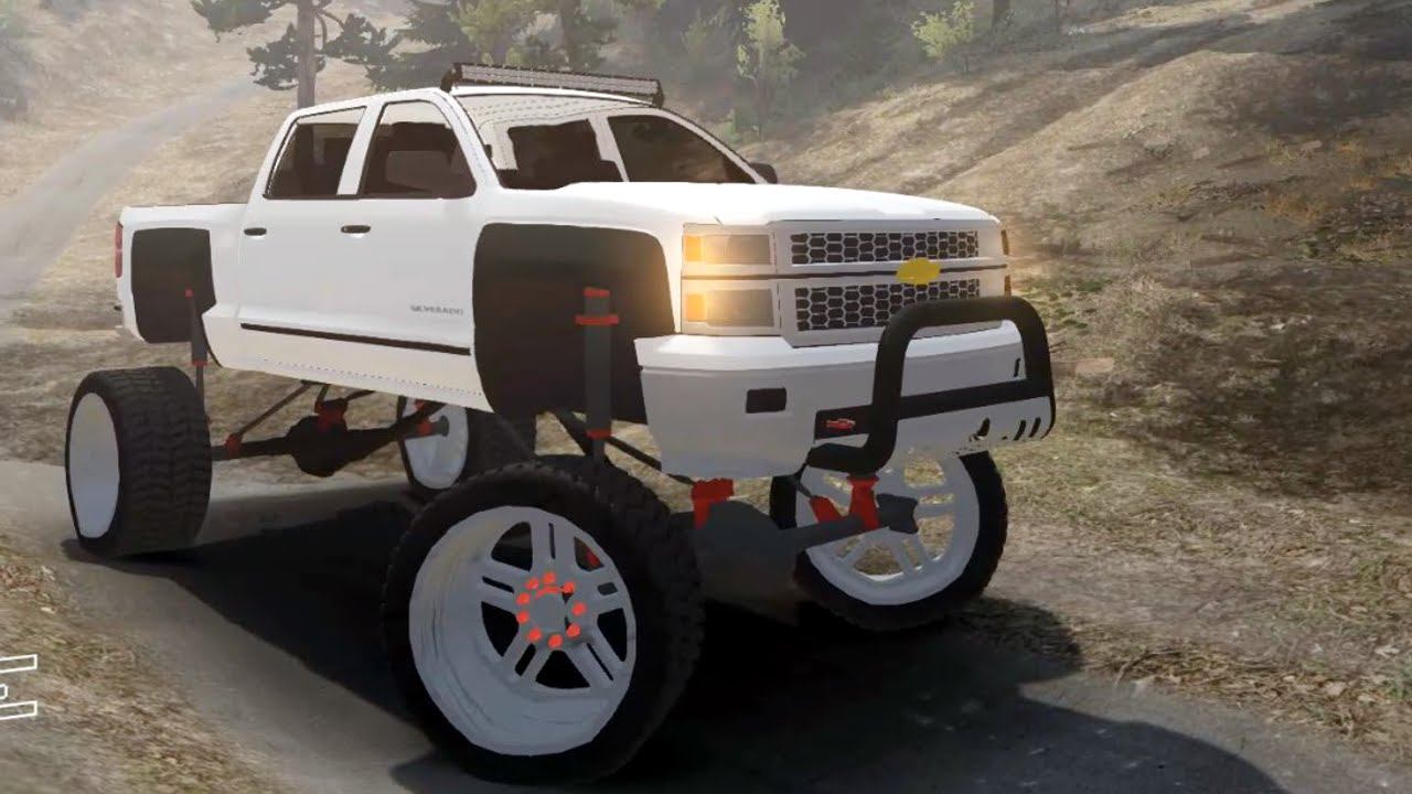 Spin Tires Massive Lifted New Chevy Silverado Youtube