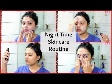 My Night Time_(SKINCARE ROUTINE ) - Tanutalks