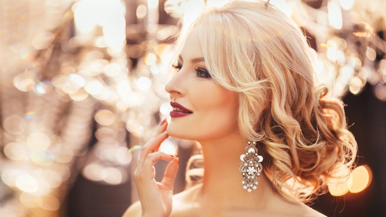 Bridal wedding updo Hairstyle for long medium hair Tutorial - YouTube