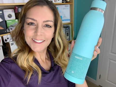 Aquio IBTB2 by iHome Speaker water bottle review