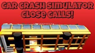 * INSANE * FECHAR CHAMADAS! -Car Crash Simulator 🚘 (ROBLOX)