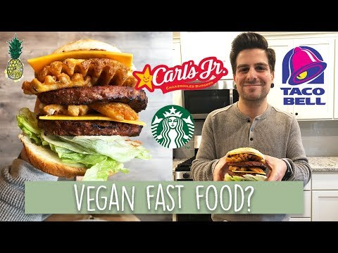 Eating Vegan Fast Food for 24 Hours | What Chris Eats in A Day