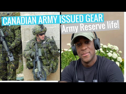 Army Issued Gear/ Canadian Army Reserve