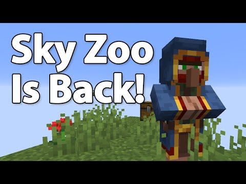 Sky Zoo is Back! | How to Install | Minecraft Skyblock 1.15