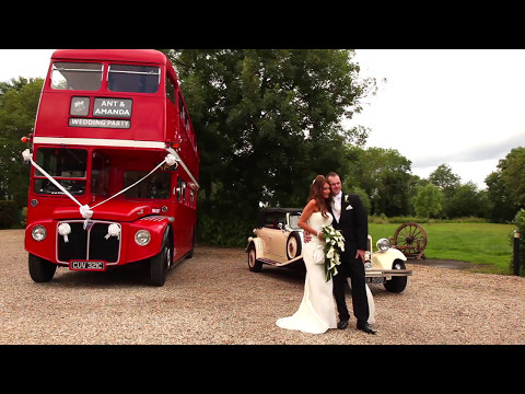 Amanda & Ant's Wedding Video, Produced By Hannah Brodie Photography & Videography