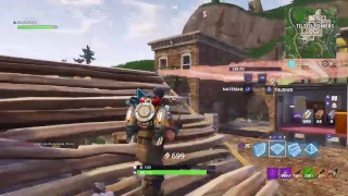 [LIVE] FORTNITE save the world and terain garage games (pc,PS4) Venner played with us