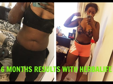 HOW I LOST WEIGHT IN 6 MONTHS WITH HERBALIFE.