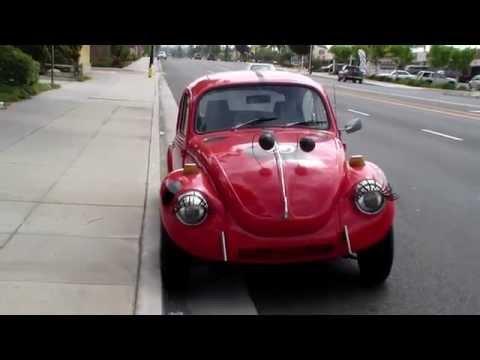 Volkswagen Beetle Eyelash Decals