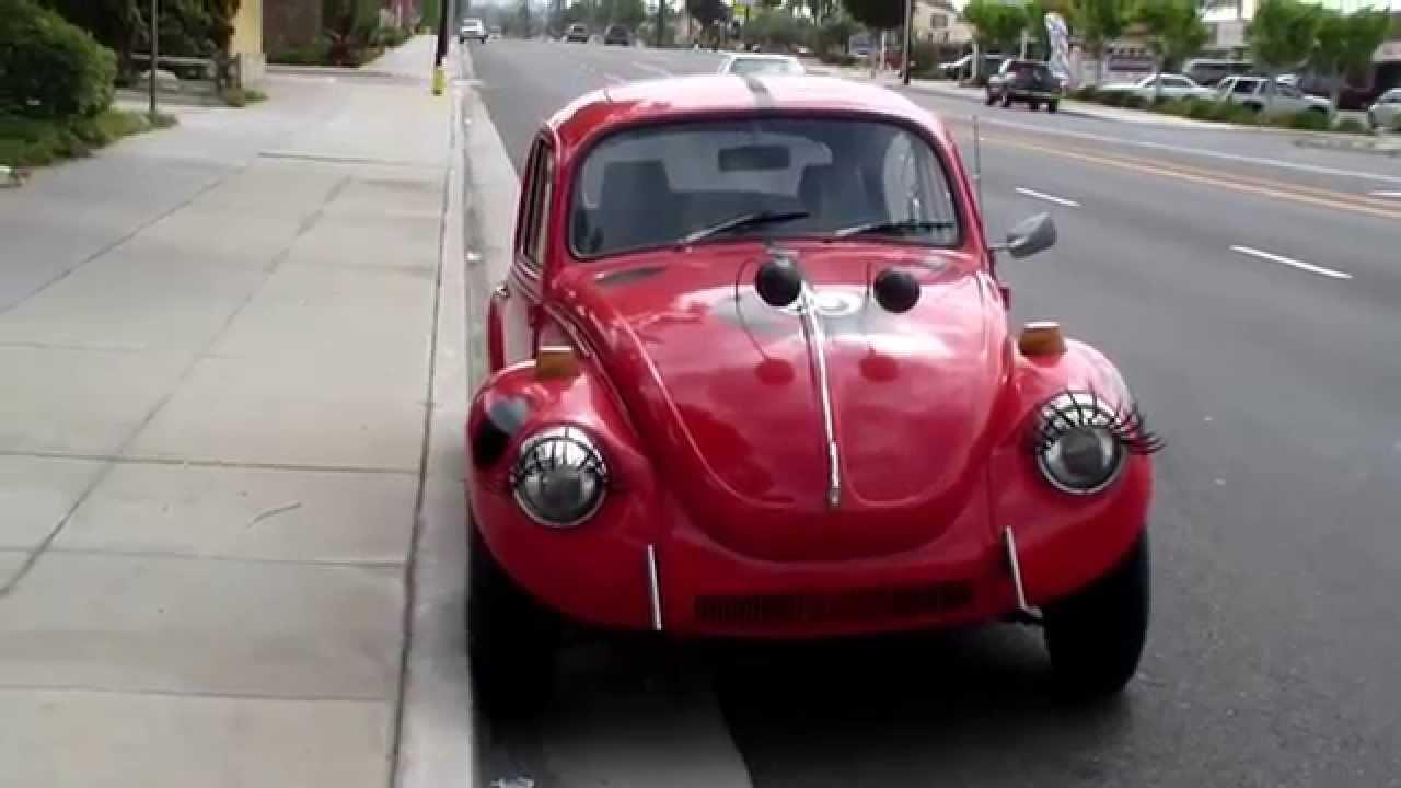 volkswagen beetle eyelash decals youtube