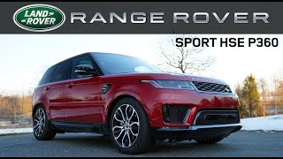 2019/20 Range Rover Sport HSE: Andie the Lab Review!