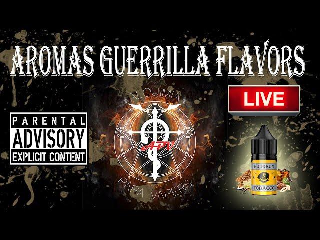 APV 193. Revisión Aromas Guerrilla Flavor. Con David Val