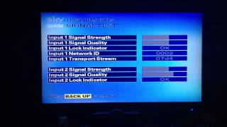 Sky+ box with suspected failing hard drive.