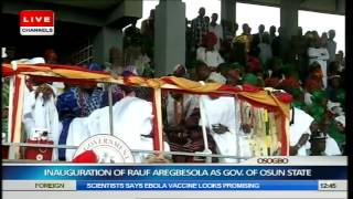 Inauguration Of Rauf Aregbesola As Governor Of Osun State Part 4