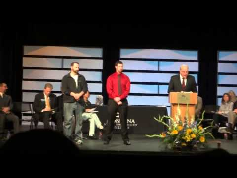 Dr Craig Honors Speech for Nathan Baillet 2013 MSU-B