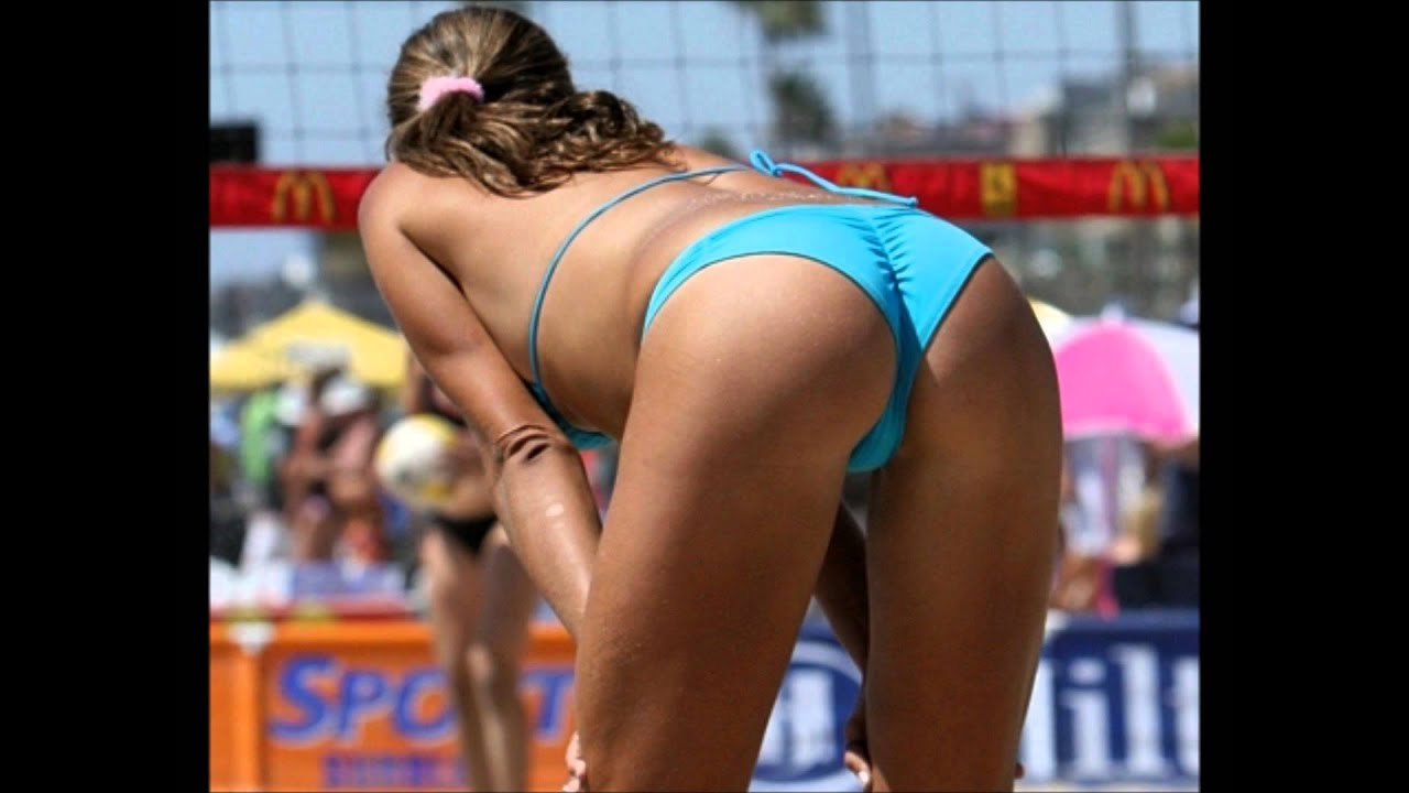 womens beach volleyball tits