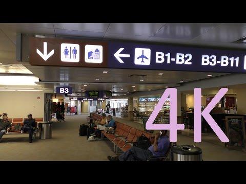 A 4K Video Tour of Tucson International Airport's Terminal B