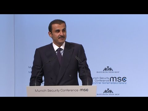 MSC-2018. Opening Statement by Sheikh Tamin Al-Thani, Emir o