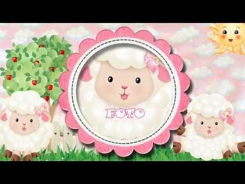 53 Convite Digital Ovelhinha Rosa Youtube