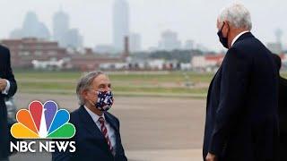 Pence, Texas Gov. Abbot Hold Briefing On Coronavirus Case Surge | Nbc News